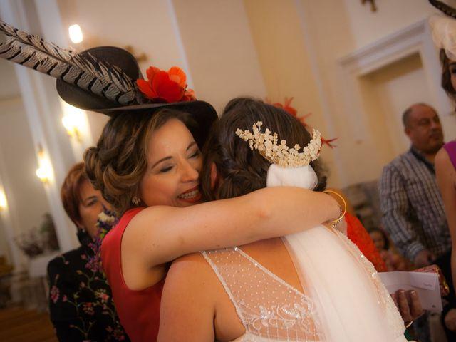 La boda de Sergio y Susana en Torremocha, Cáceres 27