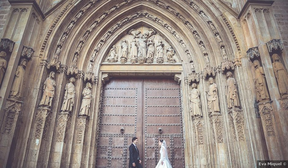 La boda de Miguel y Emma en Vilamarxant, Valencia