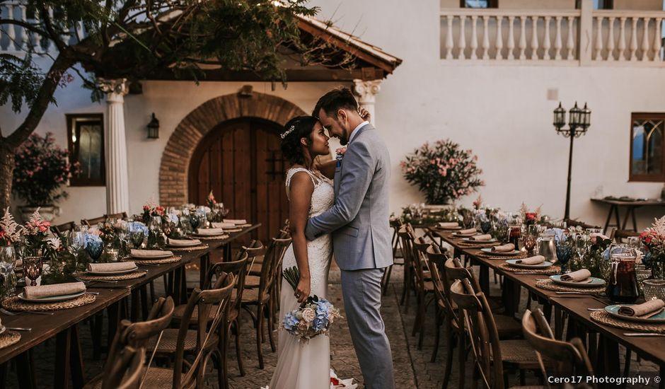 La boda de Max y Ana en Alhaurin El Grande, Málaga
