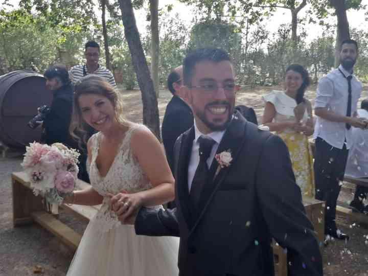 La boda de Alba  y Jona