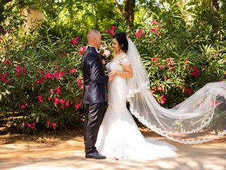 La boda de Florin y Aura