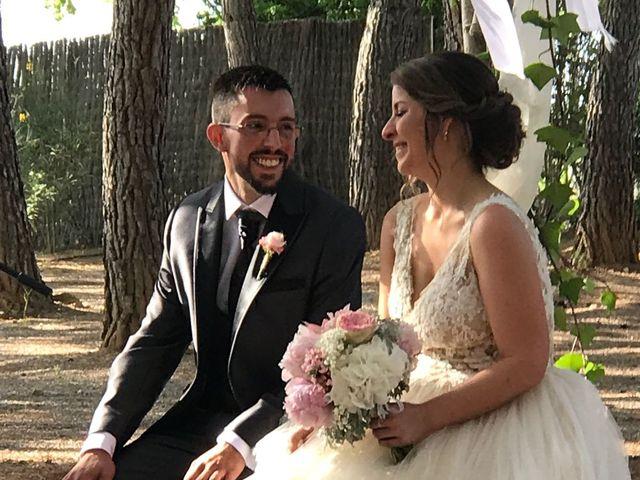 La boda de Jona  y Alba  en Sant Cugat Sesgarrigues, Barcelona 5