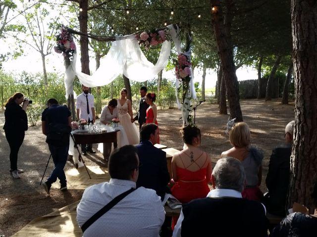 La boda de Jona  y Alba  en Sant Cugat Sesgarrigues, Barcelona 1