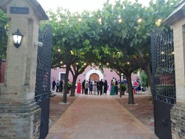 La boda de Jona  y Alba  en Sant Cugat Sesgarrigues, Barcelona 8