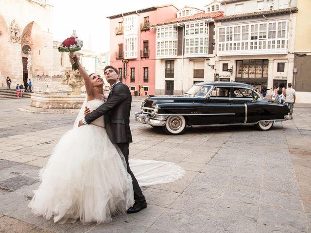 La boda de David  y Lourdes en Burgos, Burgos 23