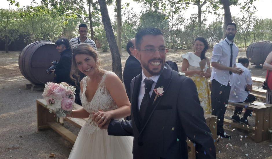 La boda de Jona  y Alba  en Sant Cugat Sesgarrigues, Barcelona