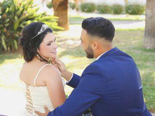 La boda de Alba y Francis