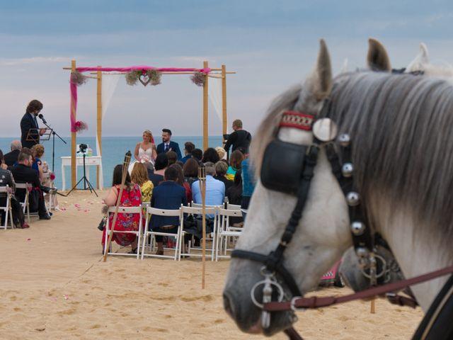 La boda de Brian y Mónica en Arenys De Mar, Barcelona 1
