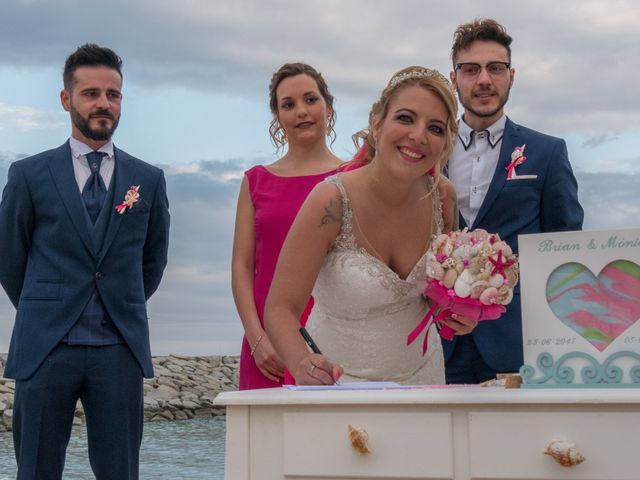La boda de Brian y Mónica en Arenys De Mar, Barcelona 54