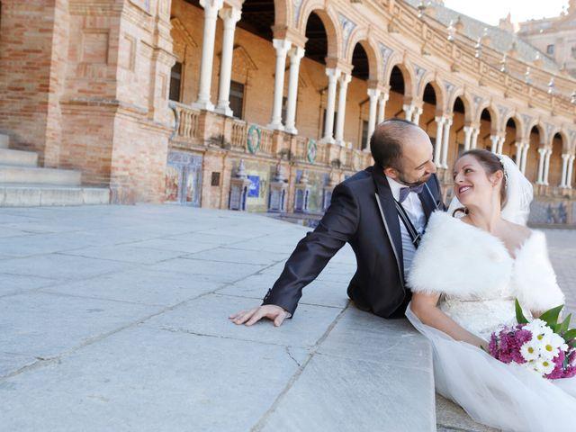 La boda de Óscar y Ana en Bollullos De La Mitacion, Sevilla 15