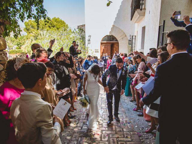 La boda de Saúl y Fátima en El Campello, Alicante 64