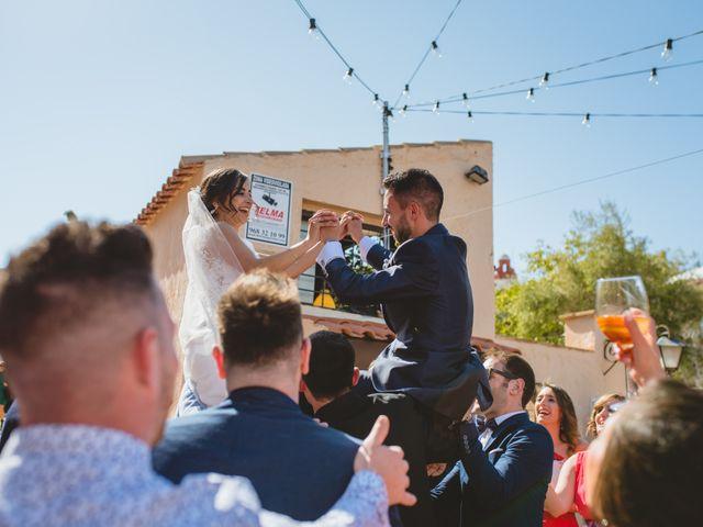La boda de Saúl y Fátima en El Campello, Alicante 76