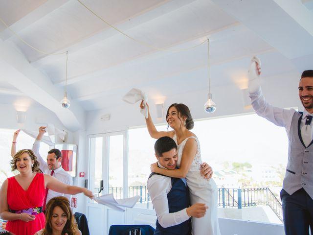 La boda de Saúl y Fátima en El Campello, Alicante 79