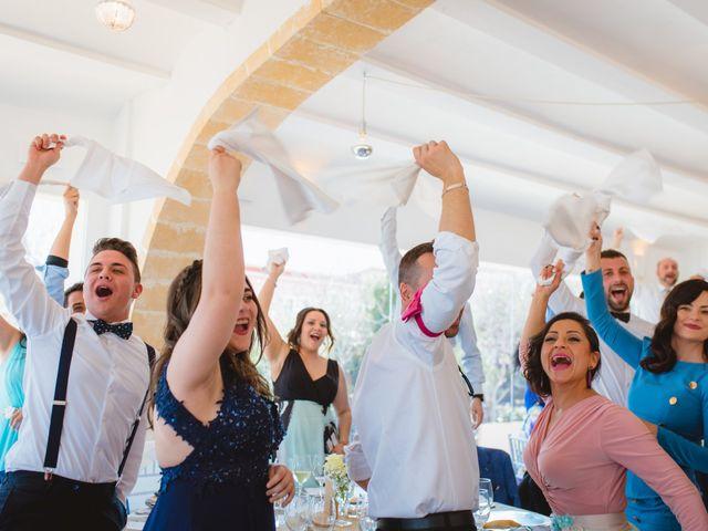 La boda de Saúl y Fátima en El Campello, Alicante 81