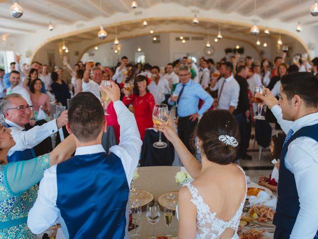 La boda de Saúl y Fátima en El Campello, Alicante 82
