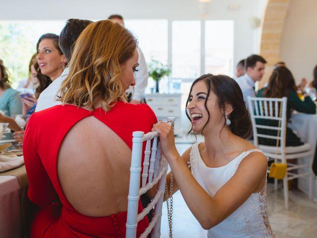 La boda de Saúl y Fátima en El Campello, Alicante 87