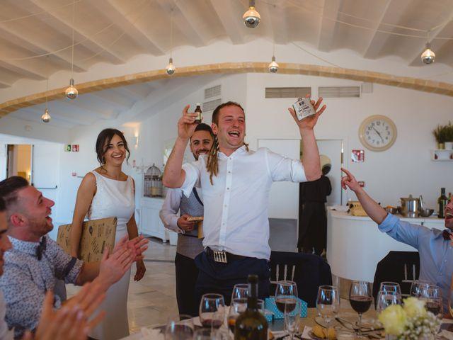La boda de Saúl y Fátima en El Campello, Alicante 90