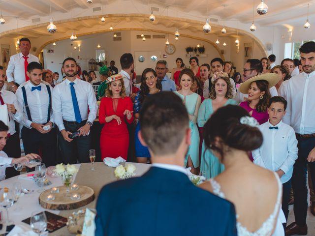 La boda de Saúl y Fátima en El Campello, Alicante 103