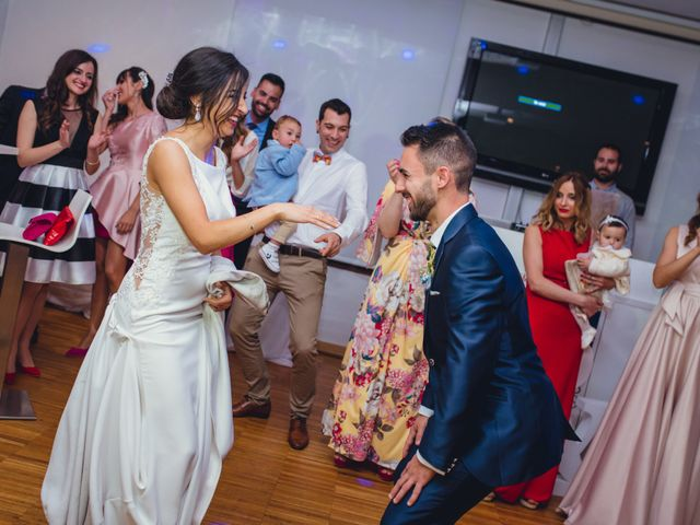 La boda de Saúl y Fátima en El Campello, Alicante 110