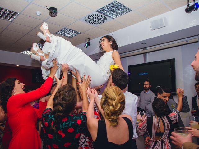 La boda de Saúl y Fátima en El Campello, Alicante 116