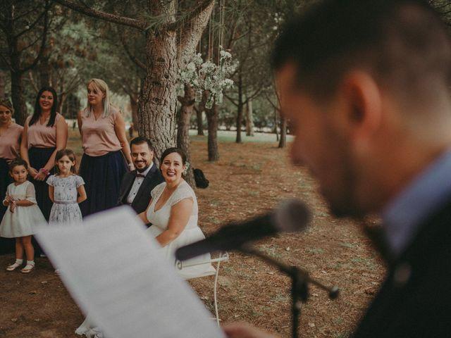 La boda de Oriol y Eva en Riudoms, Tarragona 97