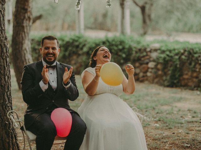 La boda de Oriol y Eva en Riudoms, Tarragona 106