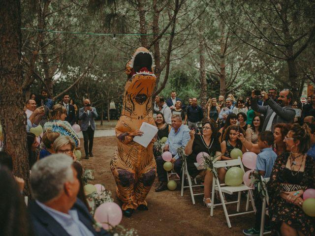 La boda de Oriol y Eva en Riudoms, Tarragona 108