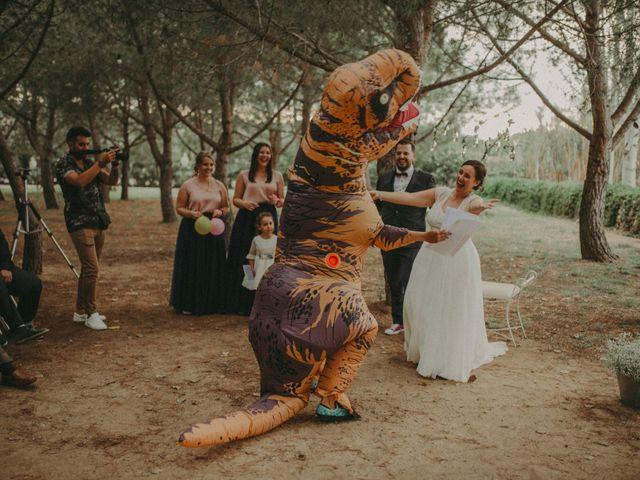 La boda de Oriol y Eva en Riudoms, Tarragona 109