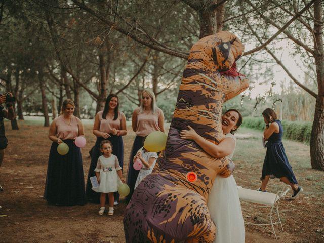La boda de Oriol y Eva en Riudoms, Tarragona 110