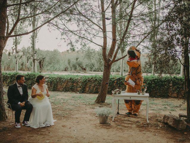 La boda de Oriol y Eva en Riudoms, Tarragona 111
