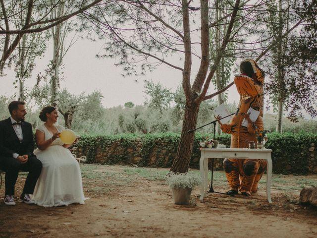 La boda de Oriol y Eva en Riudoms, Tarragona 112