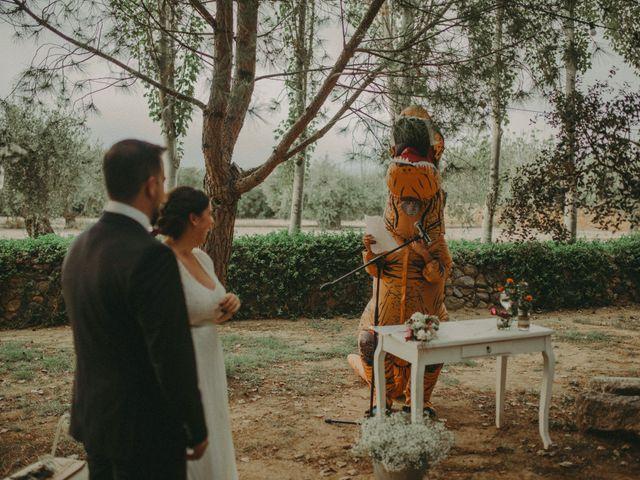 La boda de Oriol y Eva en Riudoms, Tarragona 116