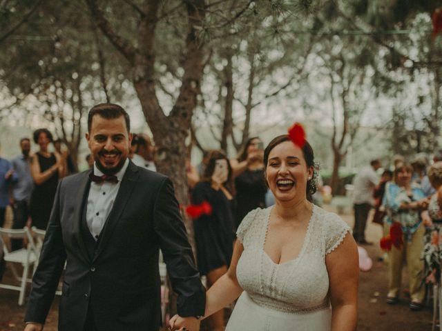 La boda de Oriol y Eva en Riudoms, Tarragona 118