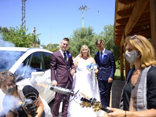 La boda de Eulogio y Isa en Canyelles, Barcelona 18