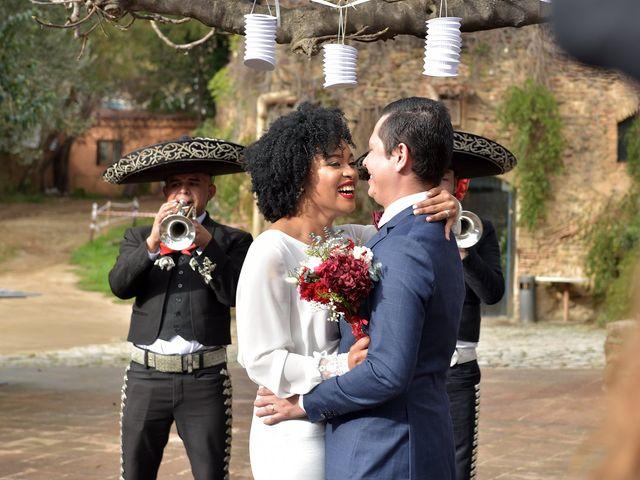 La boda de Alberto y Gerlany