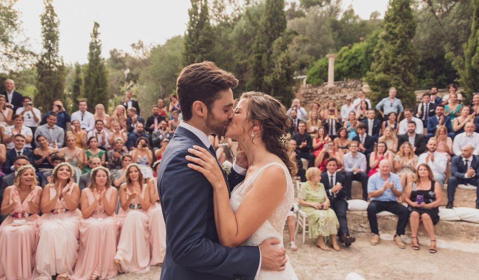 La boda de Fran y Llucia en Sa Font Seca/la Font Seca, Islas Baleares