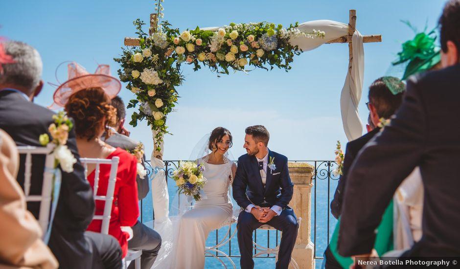 La boda de Saúl y Fátima en El Campello, Alicante