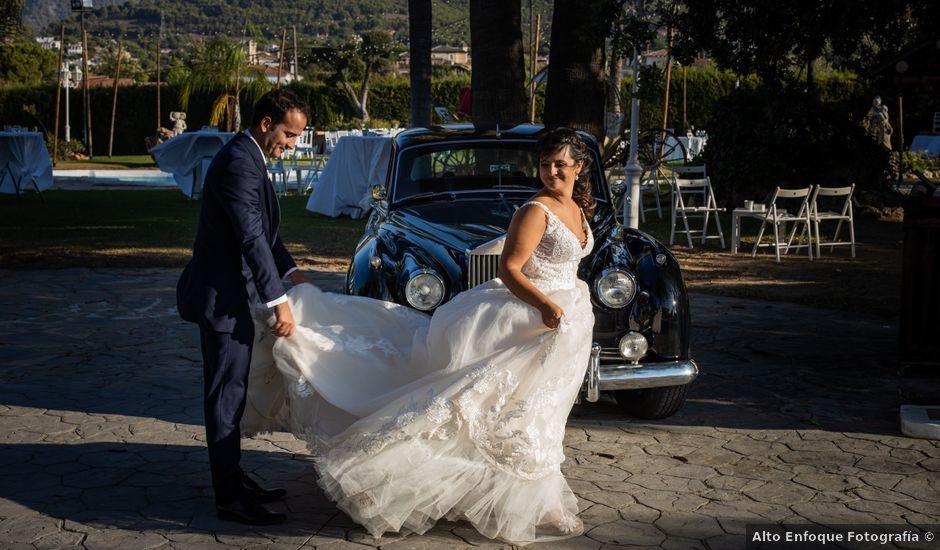 La boda de Javier y Lucía en Alhaurin De La Torre, Málaga