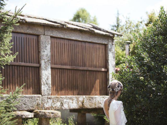 La boda de Jose y Bea en O Aciveiro, Orense 17