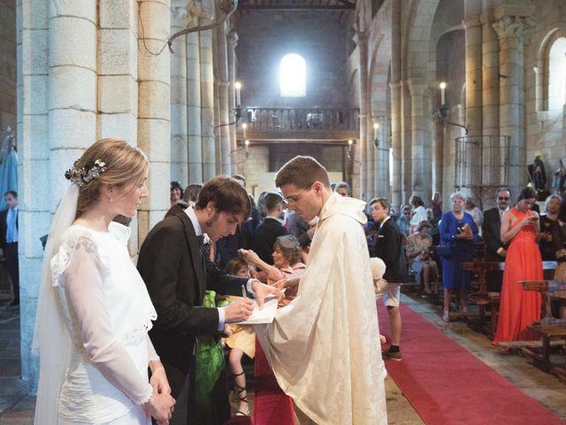 La boda de Jose y Bea en O Aciveiro, Orense 44