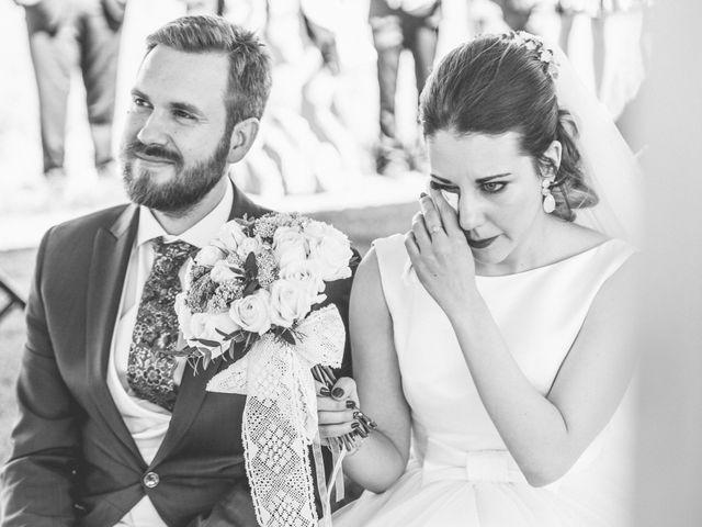 La boda de Juan Antonio y Gema en Caracuel De Calatrava, Ciudad Real 42