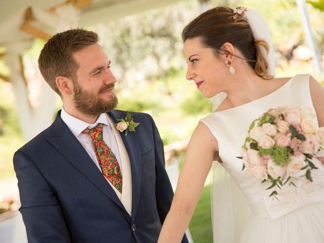 La boda de Juan Antonio y Gema en Caracuel De Calatrava, Ciudad Real 43