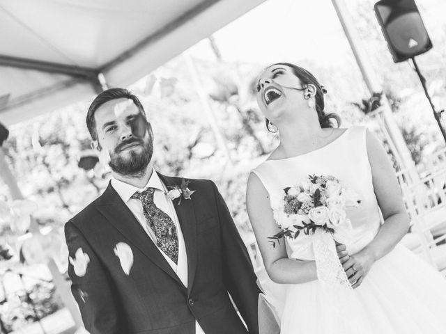 La boda de Juan Antonio y Gema en Caracuel De Calatrava, Ciudad Real 44