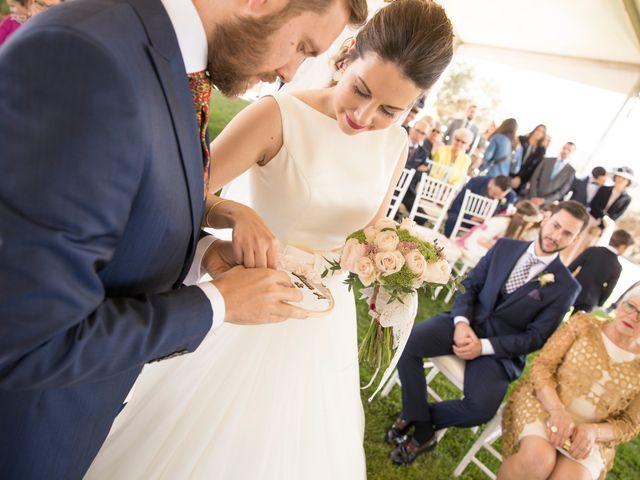 La boda de Juan Antonio y Gema en Caracuel De Calatrava, Ciudad Real 45
