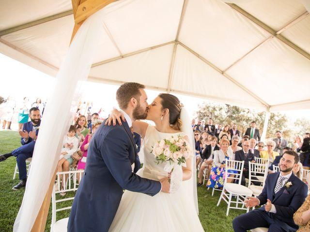 La boda de Juan Antonio y Gema en Caracuel De Calatrava, Ciudad Real 46
