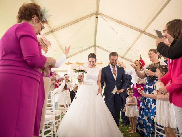 La boda de Juan Antonio y Gema en Caracuel De Calatrava, Ciudad Real 47