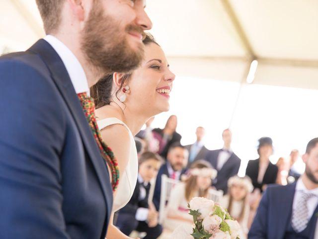 La boda de Juan Antonio y Gema en Caracuel De Calatrava, Ciudad Real 53