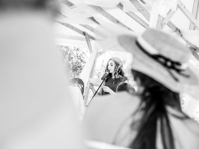 La boda de Juan Antonio y Gema en Caracuel De Calatrava, Ciudad Real 54