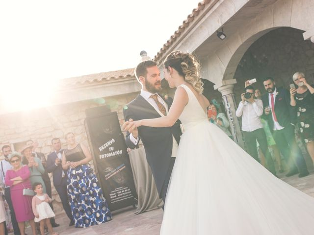 La boda de Juan Antonio y Gema en Caracuel De Calatrava, Ciudad Real 75