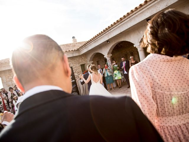 La boda de Juan Antonio y Gema en Caracuel De Calatrava, Ciudad Real 82